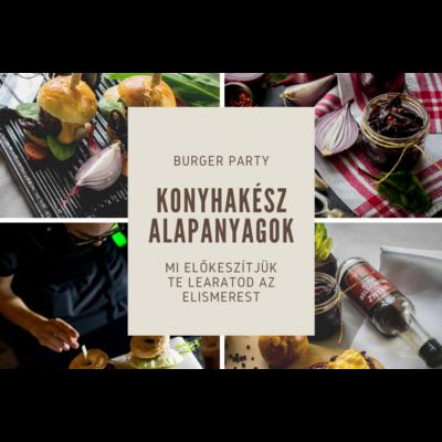 burger party - alapanyag csomag