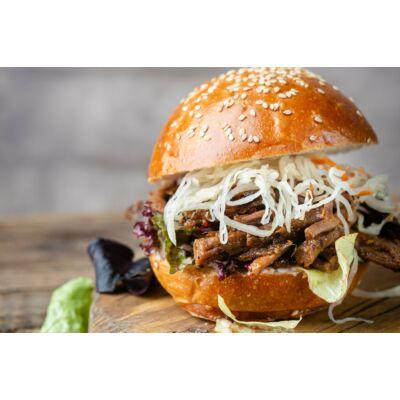 Mini pulled pork burger (falatka)